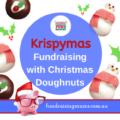 Fundraising with Christmas doughnuts from Krispy Kreme | Fundraising Mums
