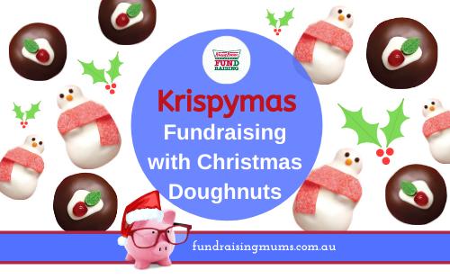 Christmas Doughnut fundraising with Krispy Kreme | Fundraising Mums