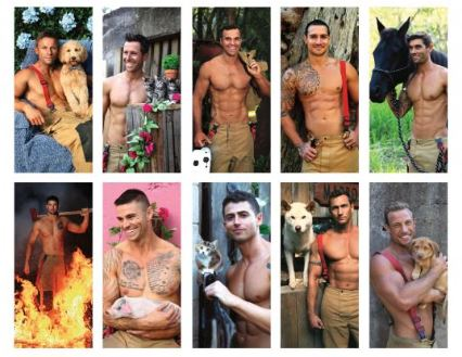 Australian Firefighters Greeting cards | Fundraising Mums