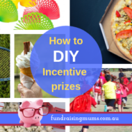 DIY Incentives Prizes for fun runs and fundraisers