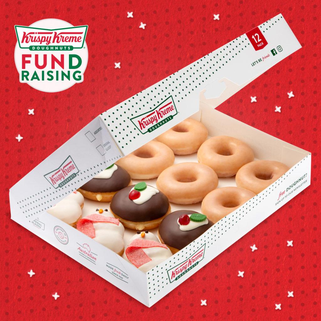 The Krispy Kreme Christmas Dozen | Fundraising Mums