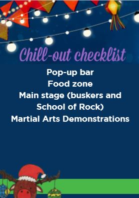 Chillout checklist for fete visitors | Fundraising Mums