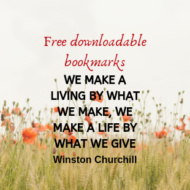 Free Fundraising Bookmarks to Download