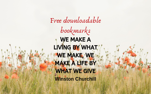 Free dowloadable bookmarks | Fundraising Mums